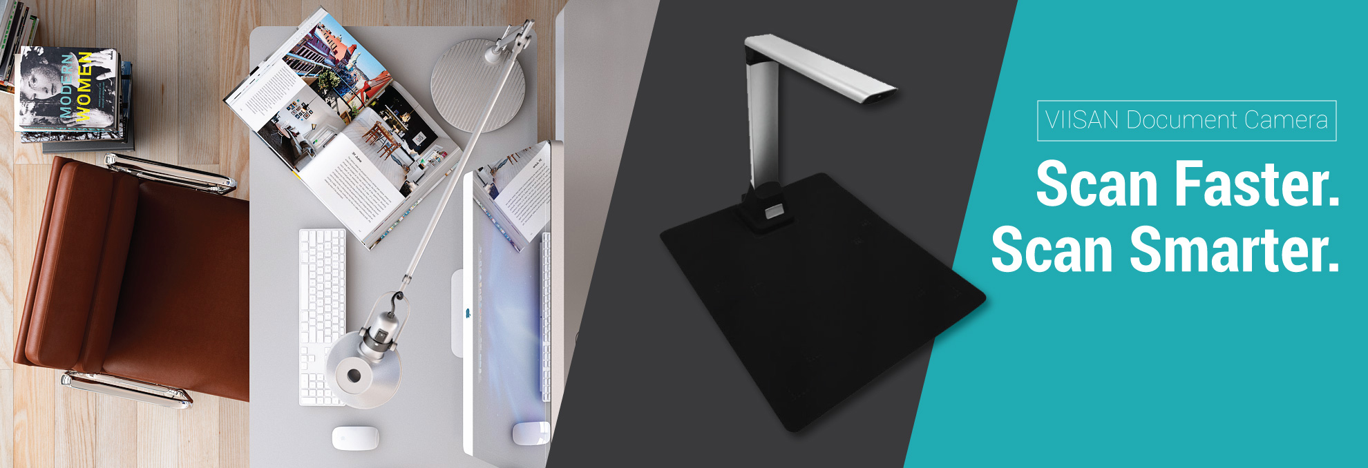 VIISAN Document Camera and Scanner for home and office